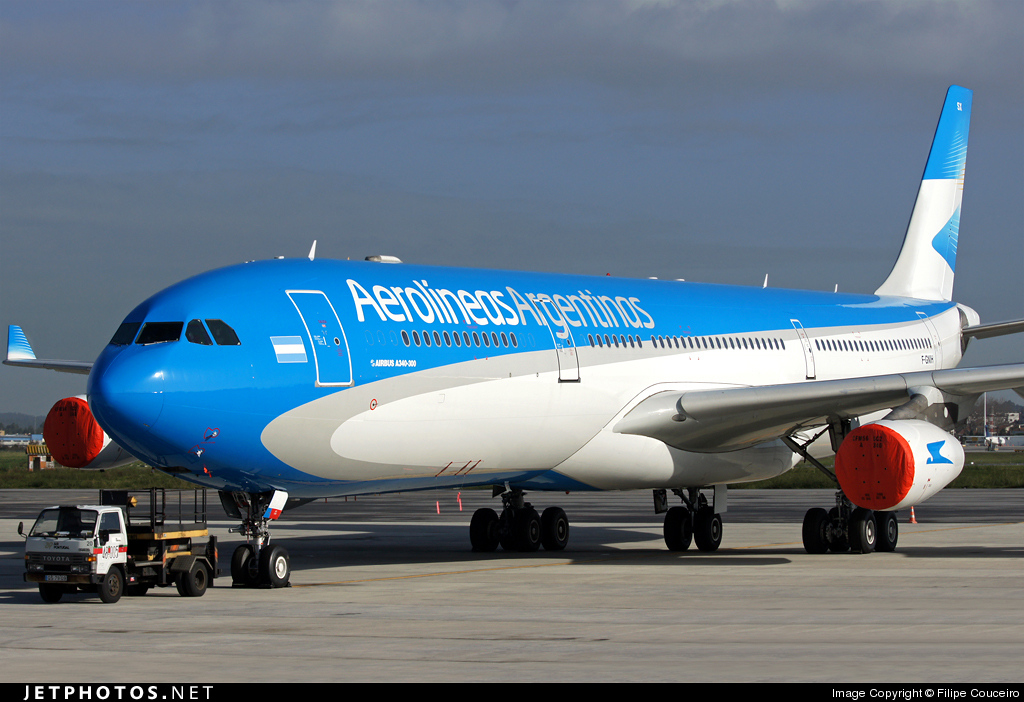 F-GNIH - Airbus A340-313X - Aerolíneas Argentinas
