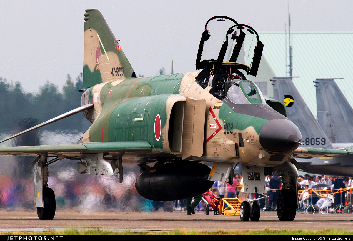 47-6903 - McDonnell Douglas RF-4E Kai - Japan - Air Self Defence Force (JASDF)