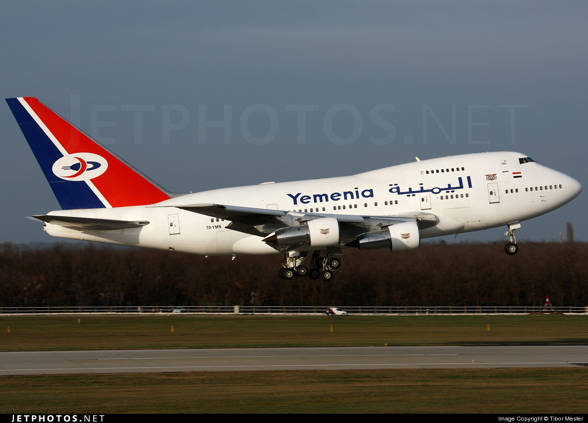 7O-YMN - Boeing 747SP-27 - Yemenia - Yemen Airways