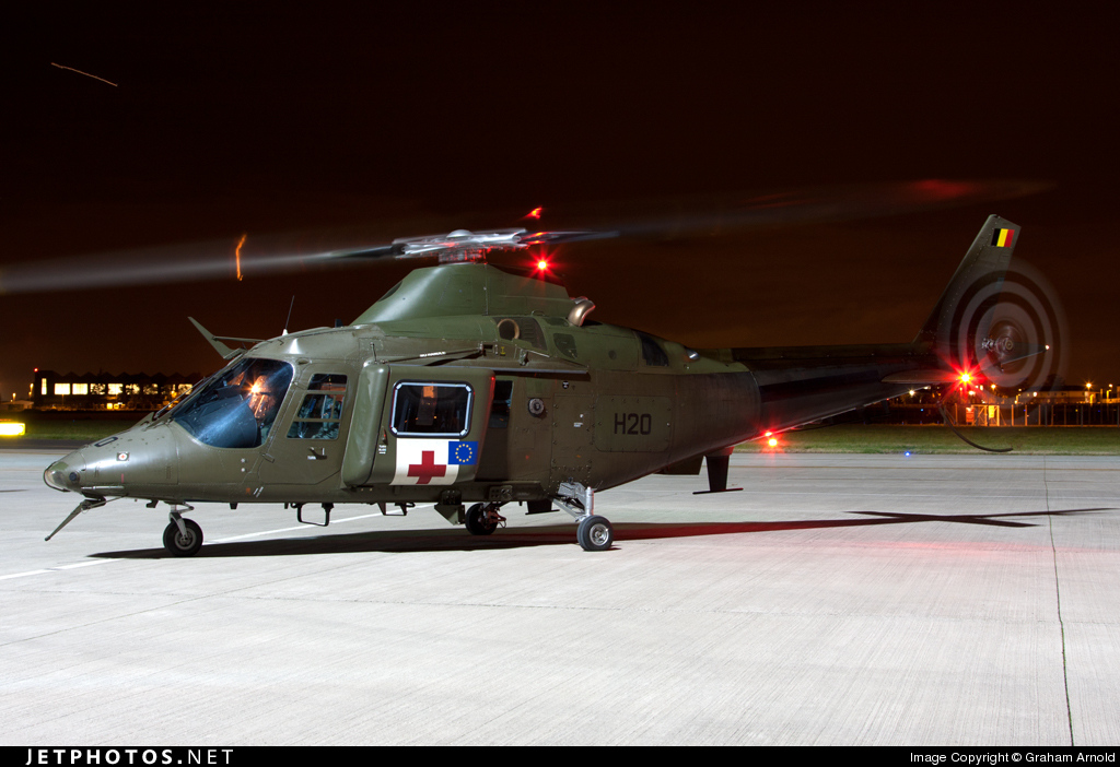 H20 - Agusta A109BA - Belgium - Army
