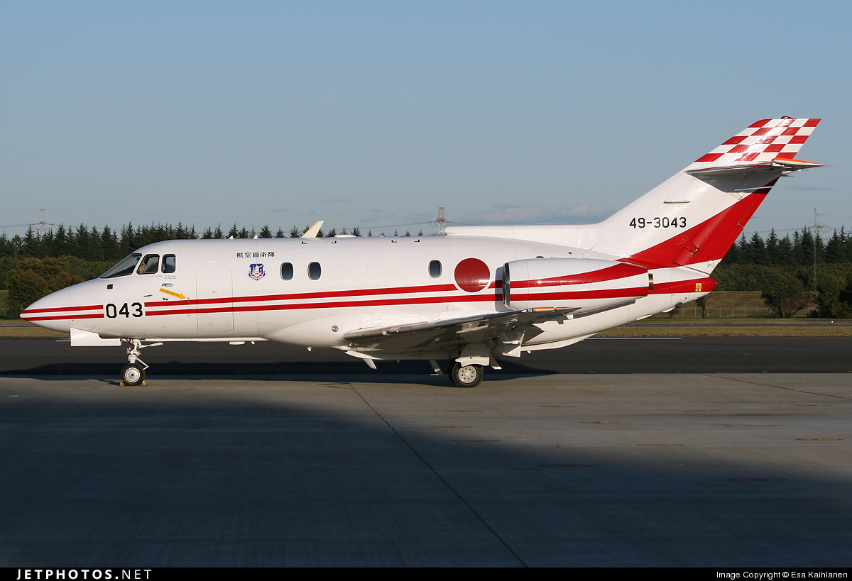 49-3043 | Raytheon Hawker U-125 | Japan - Air Self Defence ...