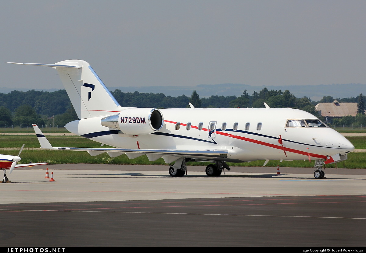N729DM - Bombardier CL-600-2B16 Challenger 604 - Private