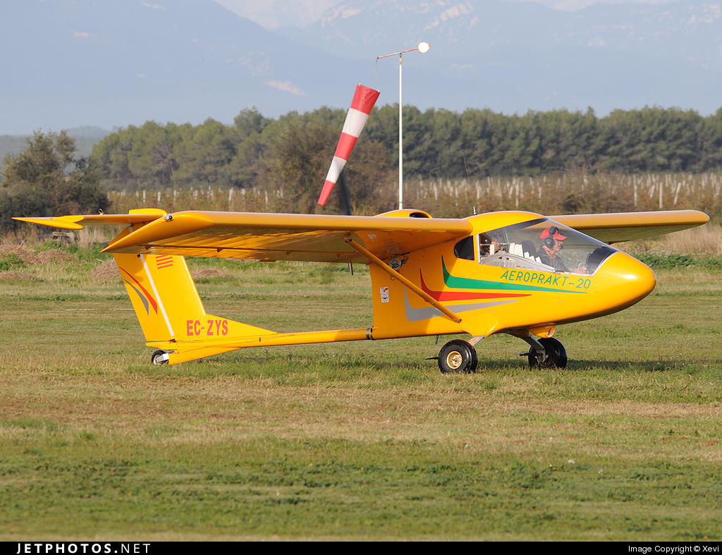 EC-ZYS - Aeroprakt A20 - Private