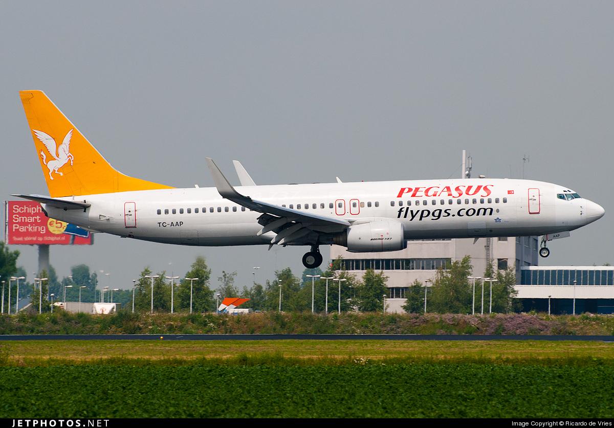 TC-AAP - Boeing 737-86N - Pegasus Airlines