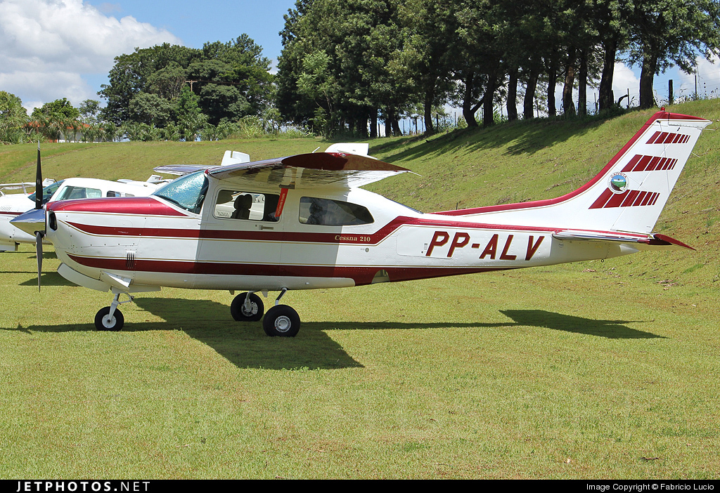 PP-ALV - Cessna T210R Turbo Centurion II - Private