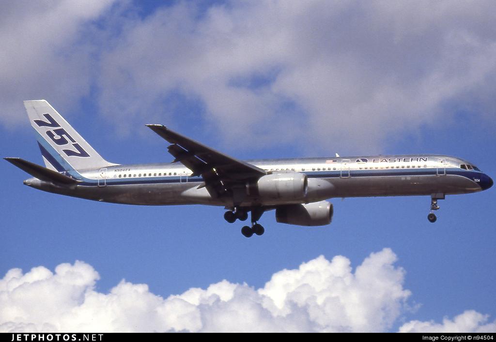 N504EA - Boeing 757-225 - Eastern Air Lines