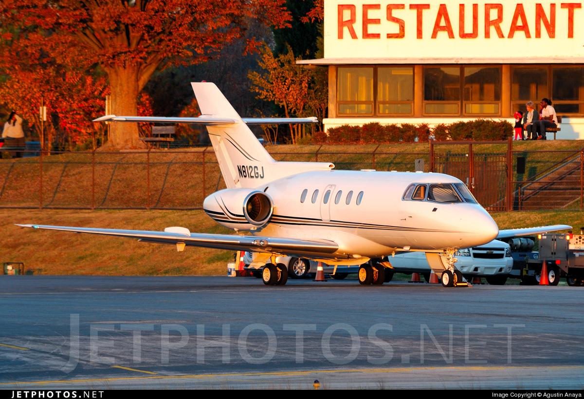N812GJ - British Aerospace BAe 125-800A - Private