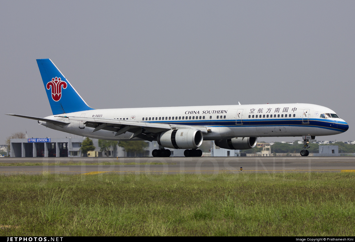 B-2823 - Boeing 757-21B - China Southern Airlines