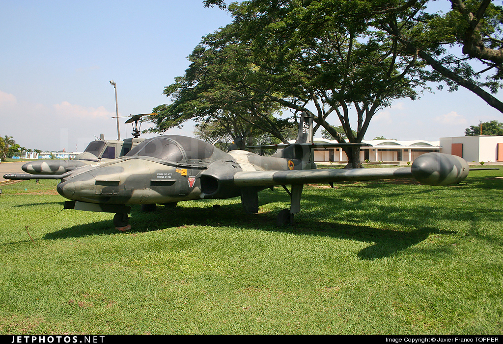 FAC2170 - Cessna A-37B Dragonfly - Colombia - Air Force