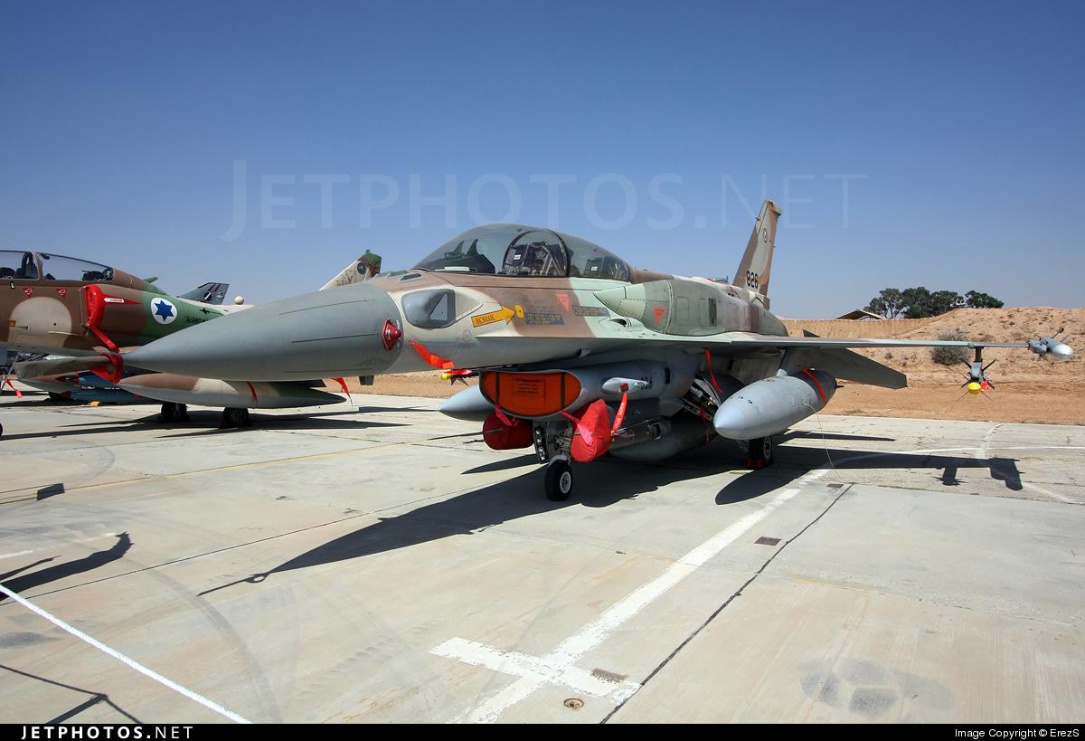826 - Lockheed Martin F-16I Sufa - Israel - Air Force