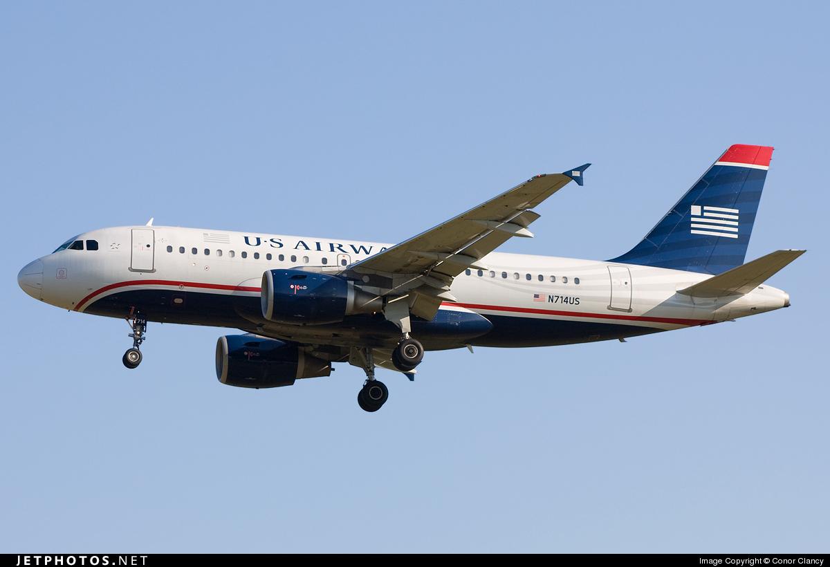 N714US - Airbus A319-112 - US Airways