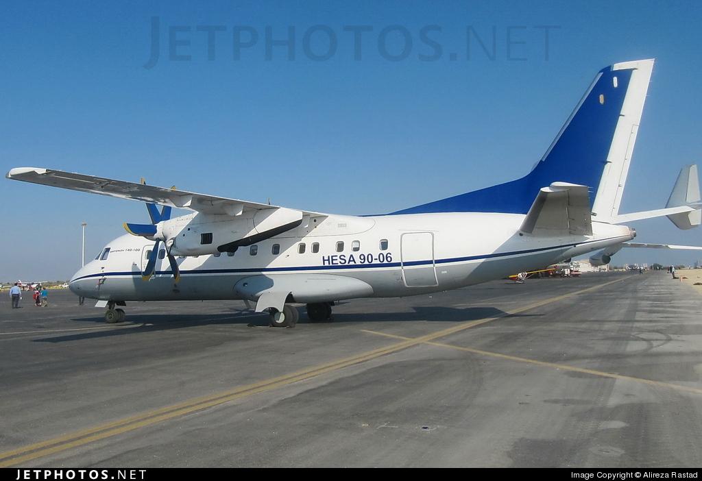 90-06 - HESA IrAn-140 Faraz - HESA (Iran Aircraft Manufacturing Industrial Company).