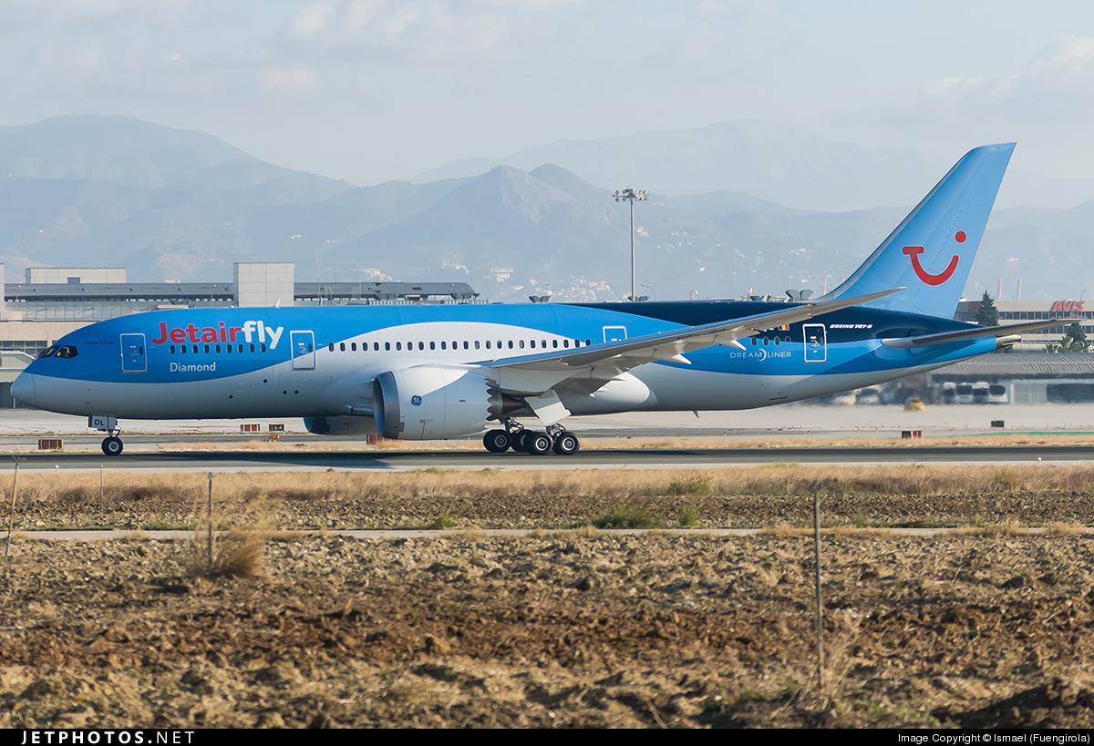OO-JDL - Boeing 787-8 Dreamliner - Jetairfly