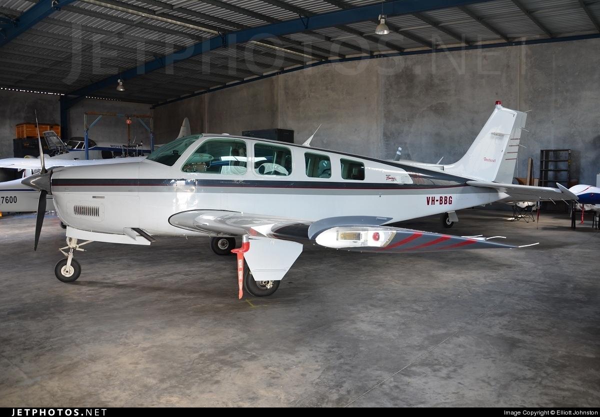 VH-BBG - Beechcraft A36 Bonanza - Private