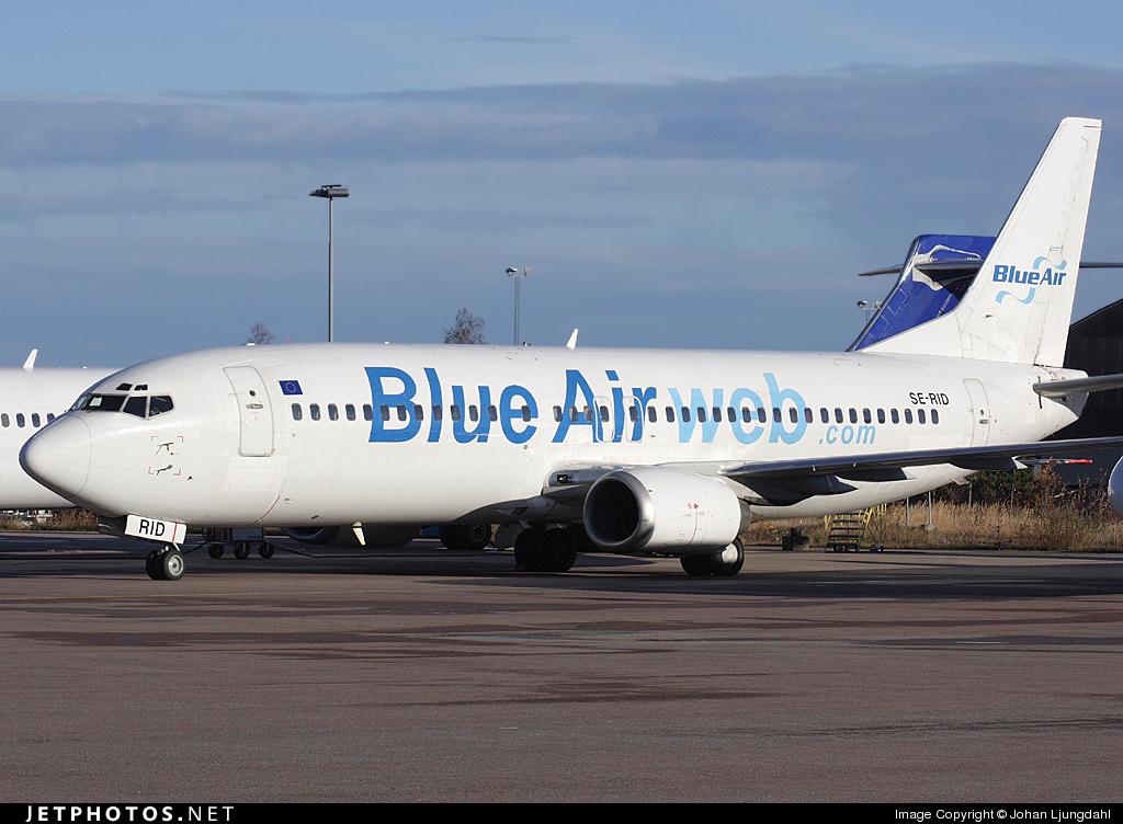 SE-RID - Boeing 737-4C9 - Blue Air