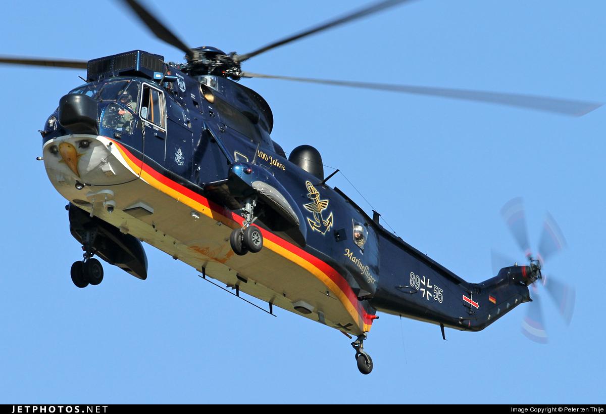 89-55 - Westland Sea King Mk.41 - Germany - Navy