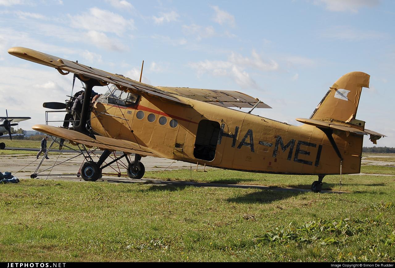 HA-MEI - PZL-Mielec An-2R - Air Patrol