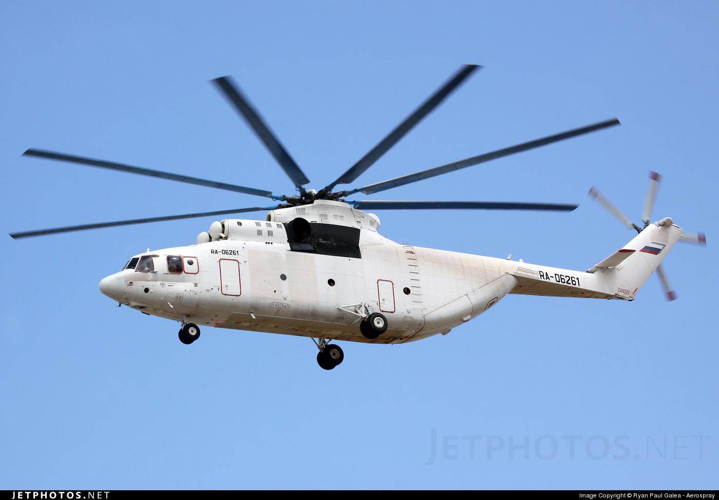 RA-06261 - Mil Mi-26T Halo - UTair Cargo