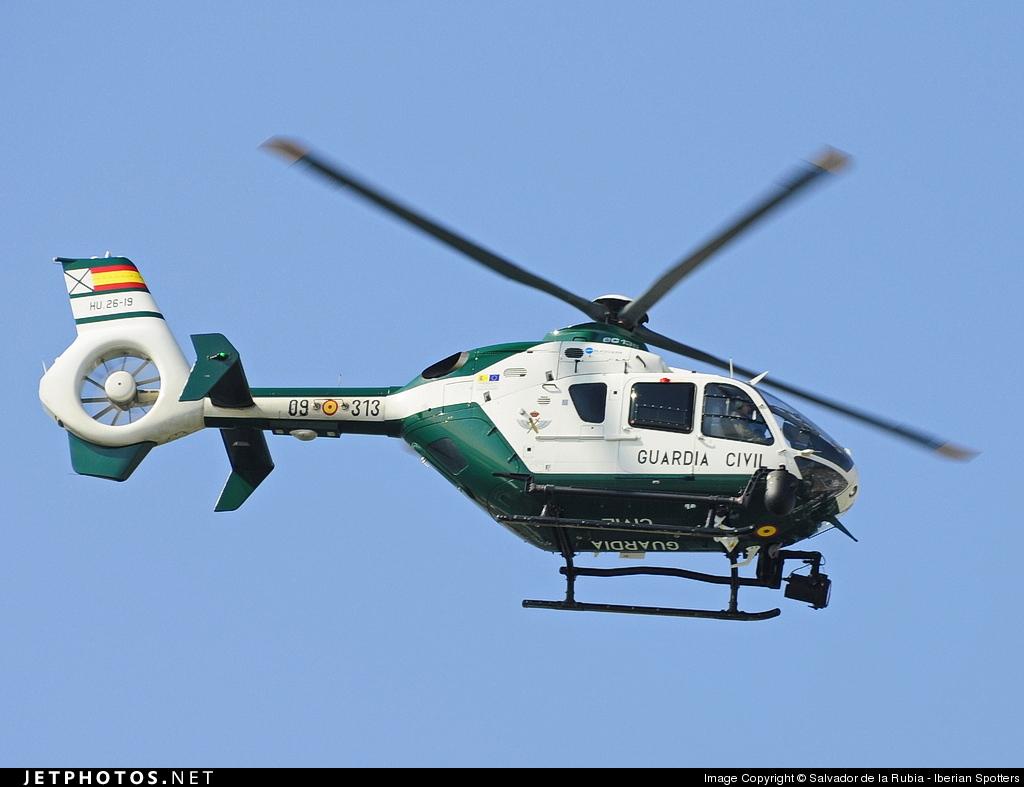 HU.26-19 - Eurocopter EC 135P2 - Spain - Guardia Civil
