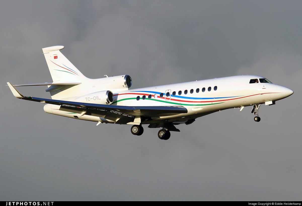 TC-OIL - Dassault Falcon 7X - Private