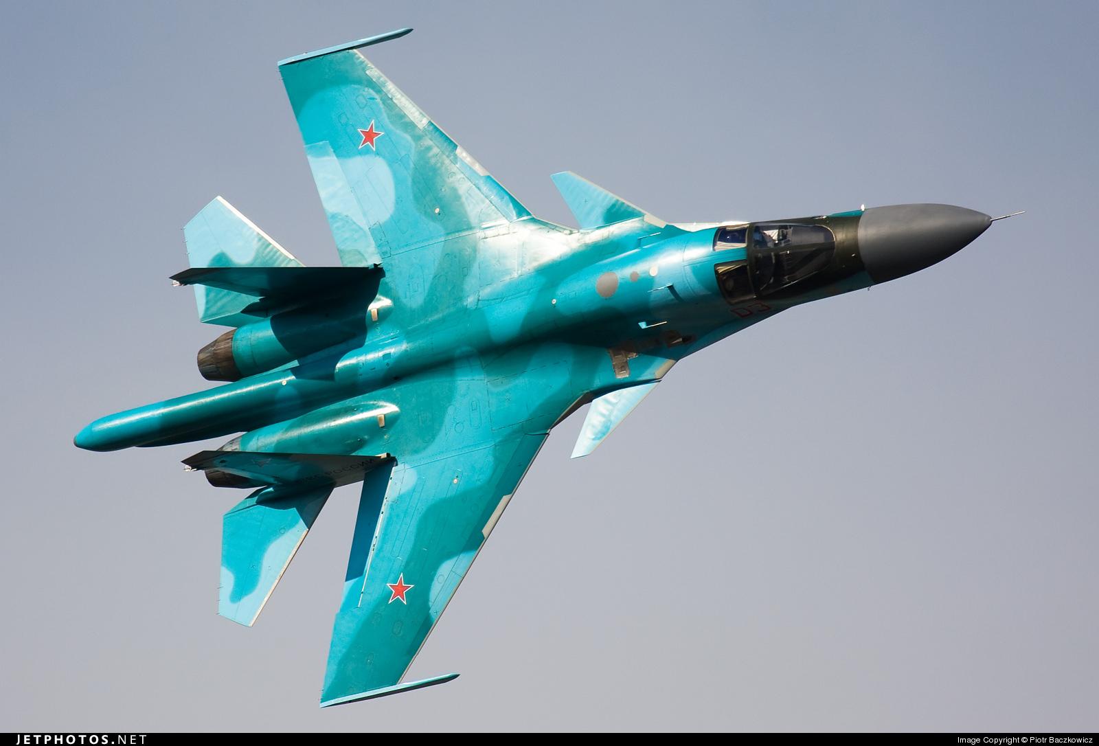03 - Sukhoi Su-34 Fullback - Russia - Air Force