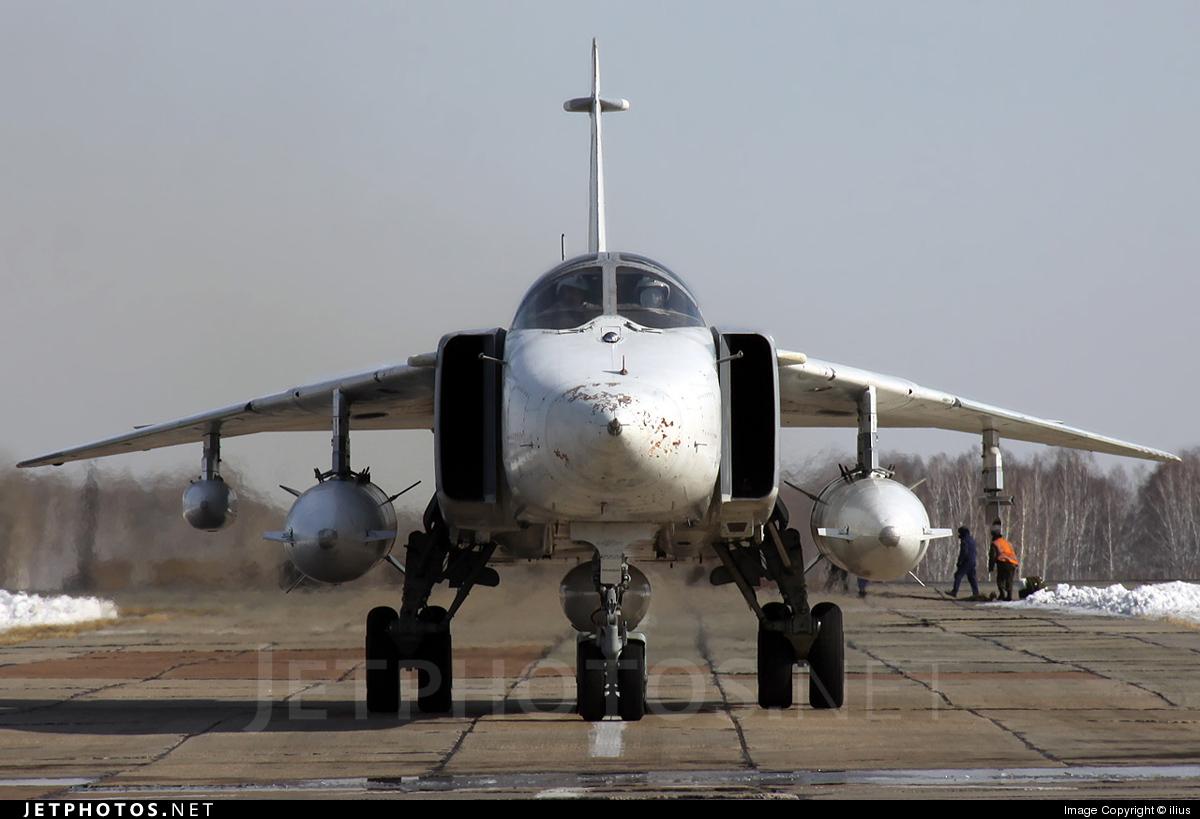 30 - Sukhoi Su-24MR Fencer - Russia - Air Force