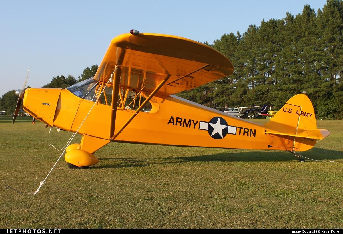 N40795 - Piper J-5A Cub Cruiser - Private