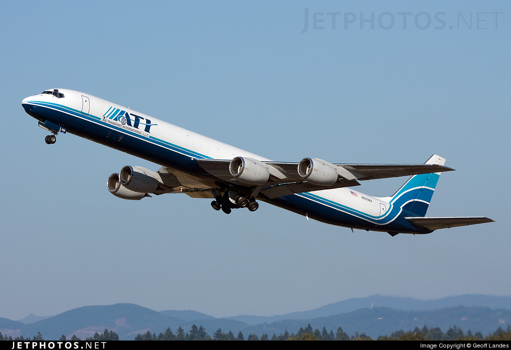 N830BX - Douglas DC-8-71(F) - Air Transport International (ATI)