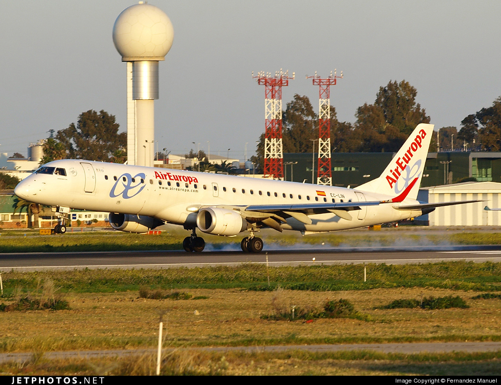 EC-LIN - Embraer 190-200LR - Air Europa