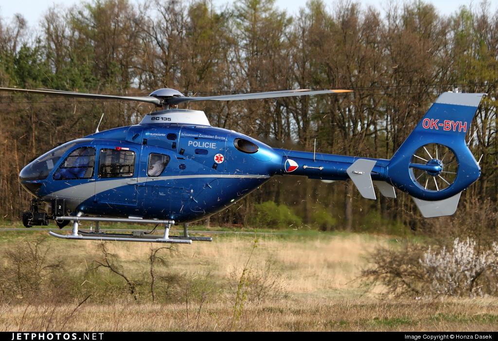 OK-BYH - Eurocopter EC 135T2 - Czech Republic - Police