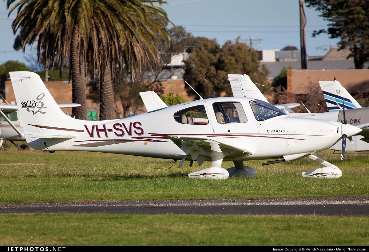 VH-SVS - Cirrus SR20 - Private