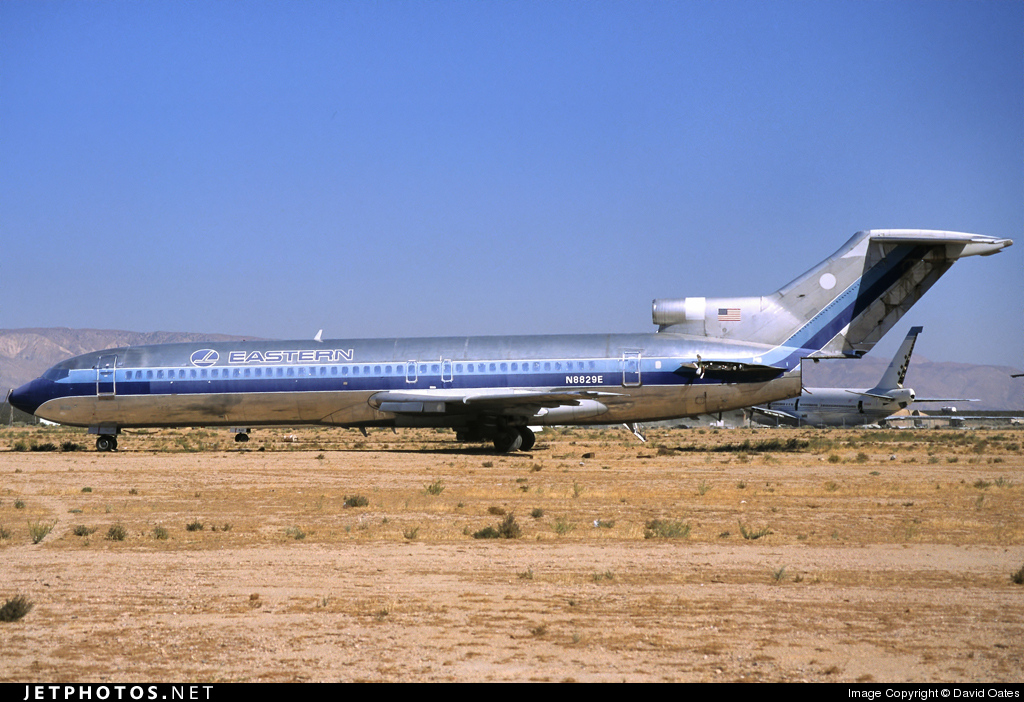 N8829E - Boeing 727-225 - Eastern Air Lines