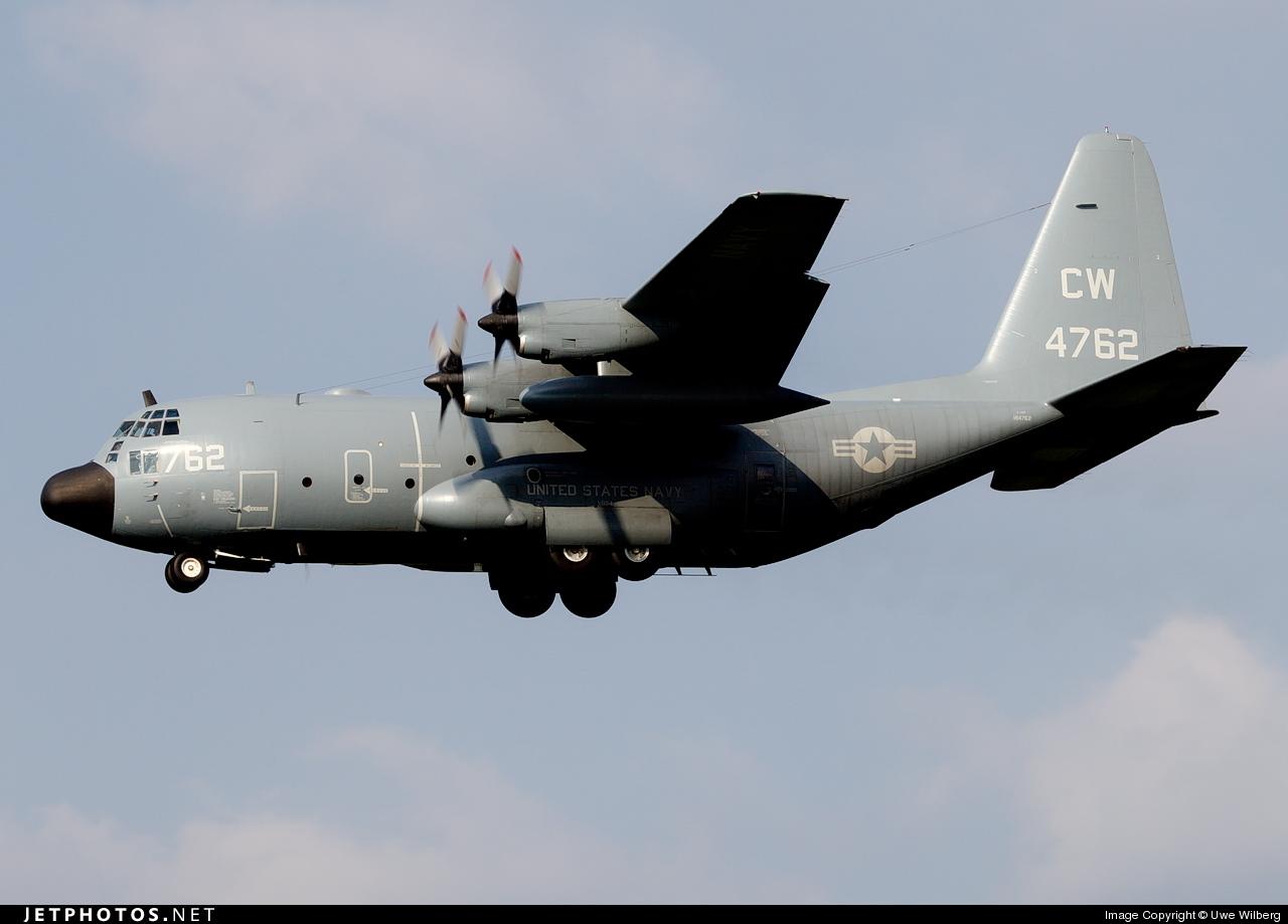 164762 - Lockheed C-130T Hercules - United States - US Navy (USN)