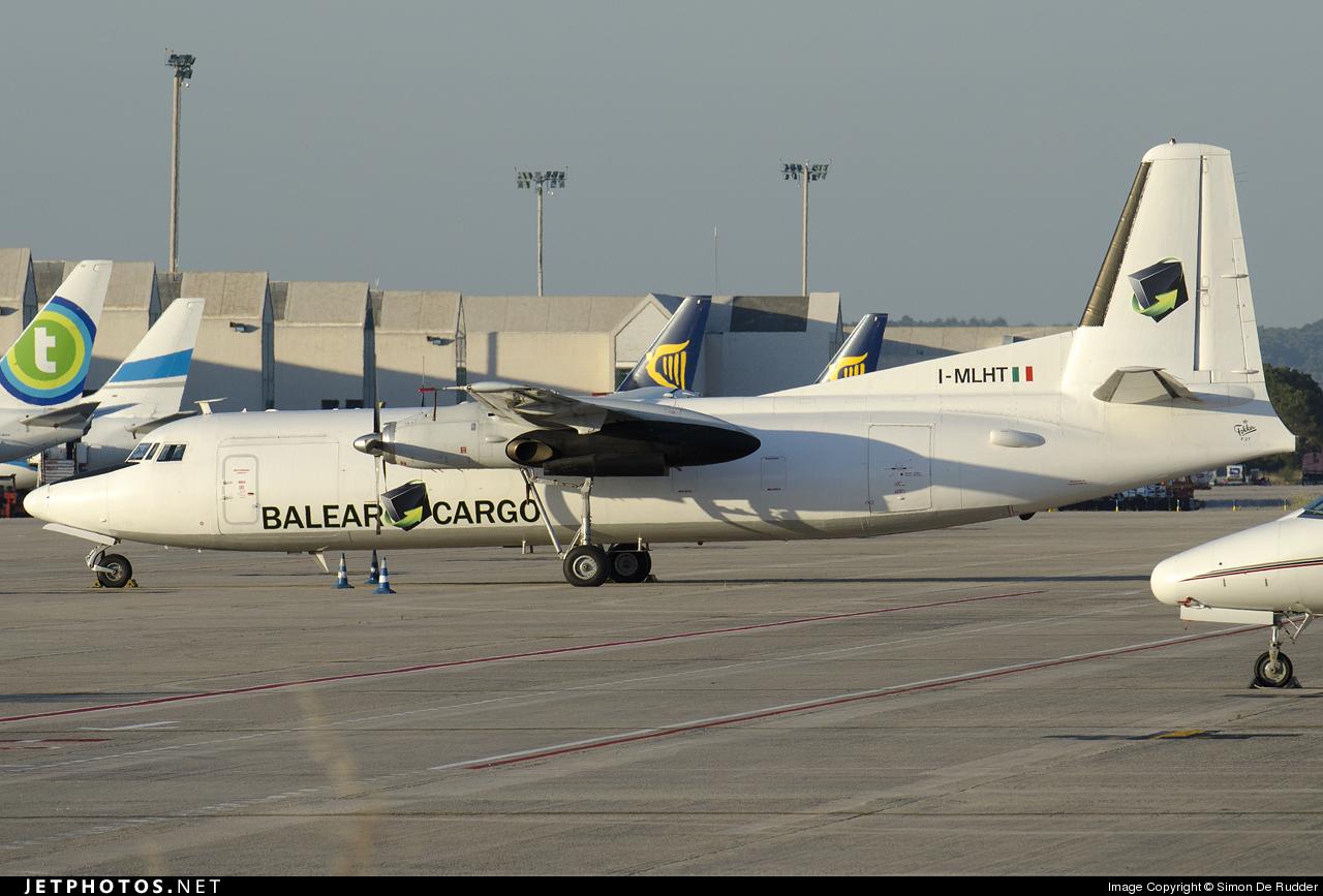 I-MLHT - Fokker F27-500F Friendship - Balear Cargo Express (Miniliner)