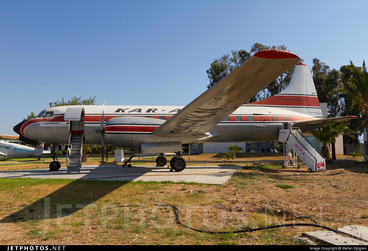 OH-VKM - Convair CV-440 - Kar-Air