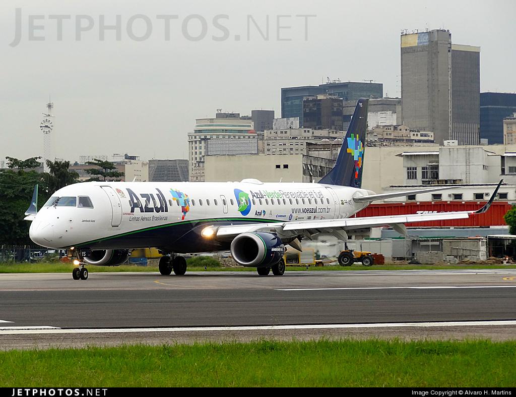 PR-AYS - Embraer 190-200IGW - Azul Linhas Aéreas Brasileiras