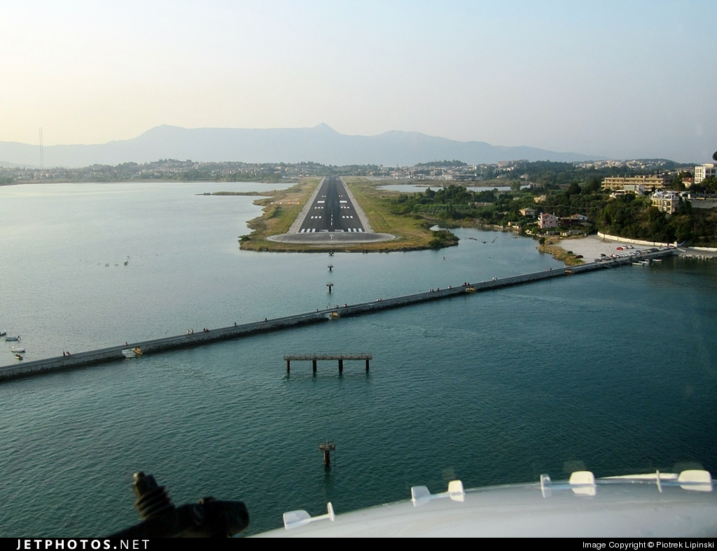 LGKR - Airport - Airport Overview