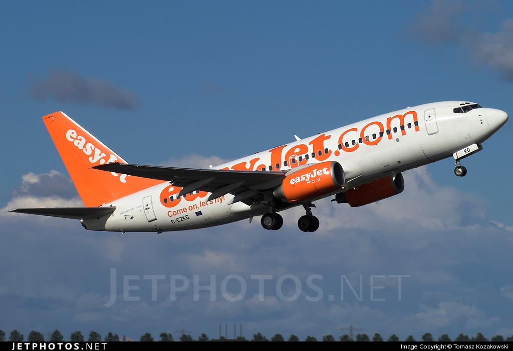 G-EZKG - Boeing 737-73V - easyJet