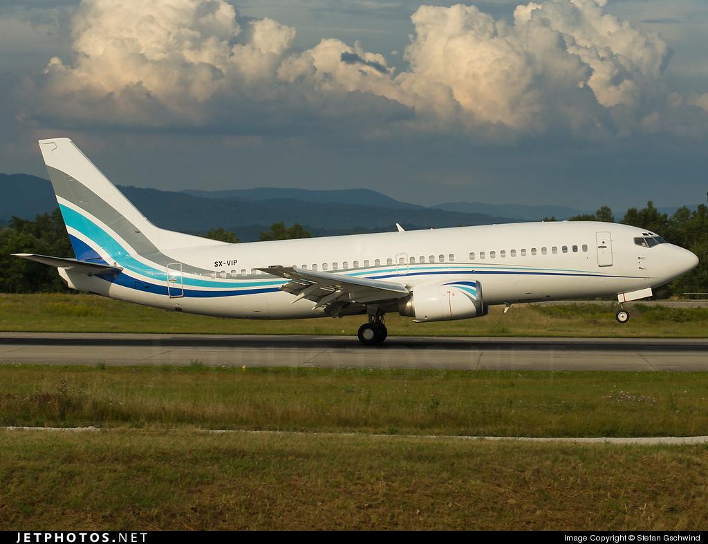 SX-VIP | Boeing 737-3Y0 | GainJet Aviation | Stefan Gschwind