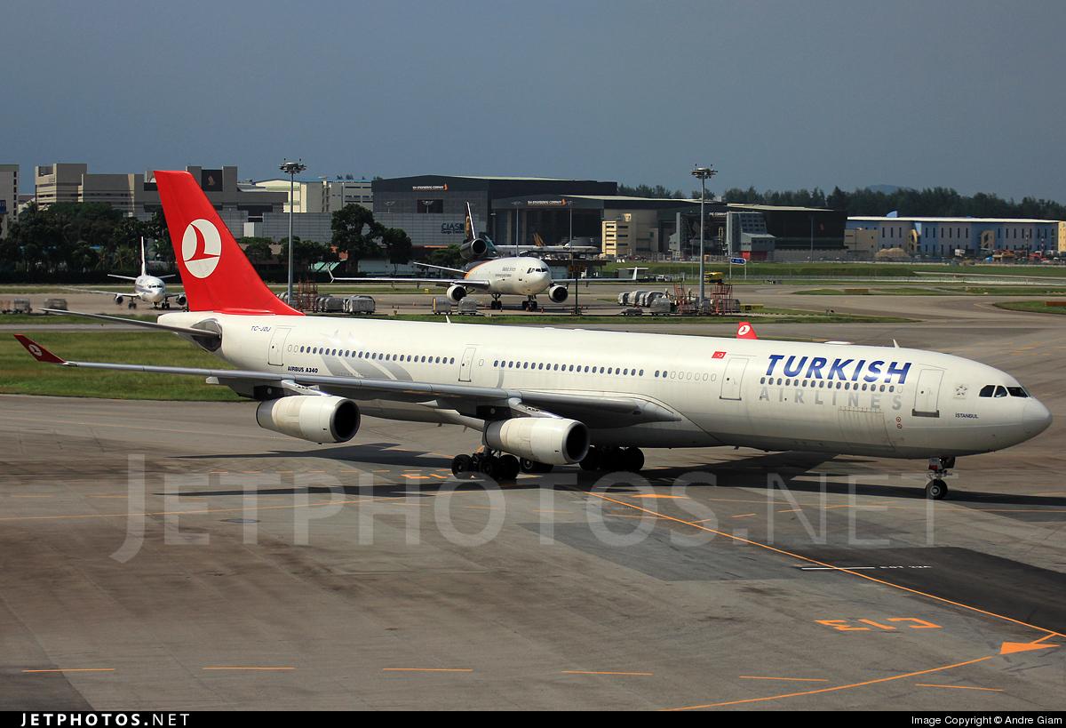 TC-JDJ - Airbus A340-311 - Turkish Airlines