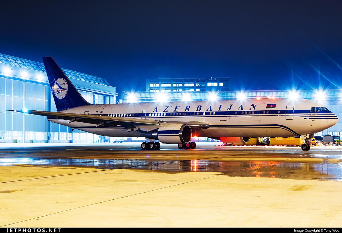 4K-AI01 - Boeing 767-32L(ER) - AZAL Azerbaijan Airlines