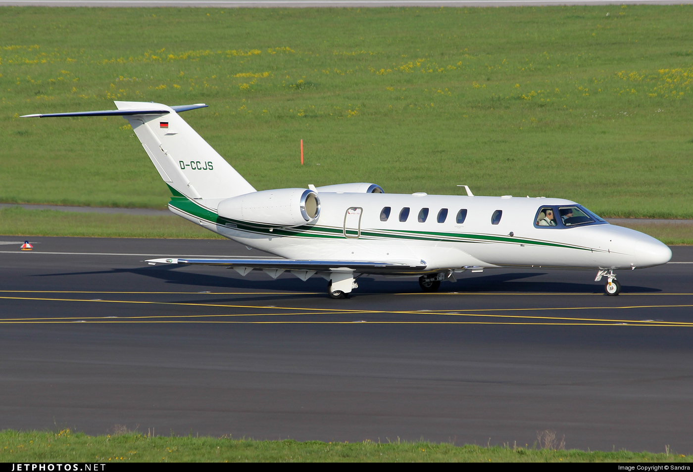 D Ccjs Cessna 525c Citation Cj4 Private Sandra Jetphotos