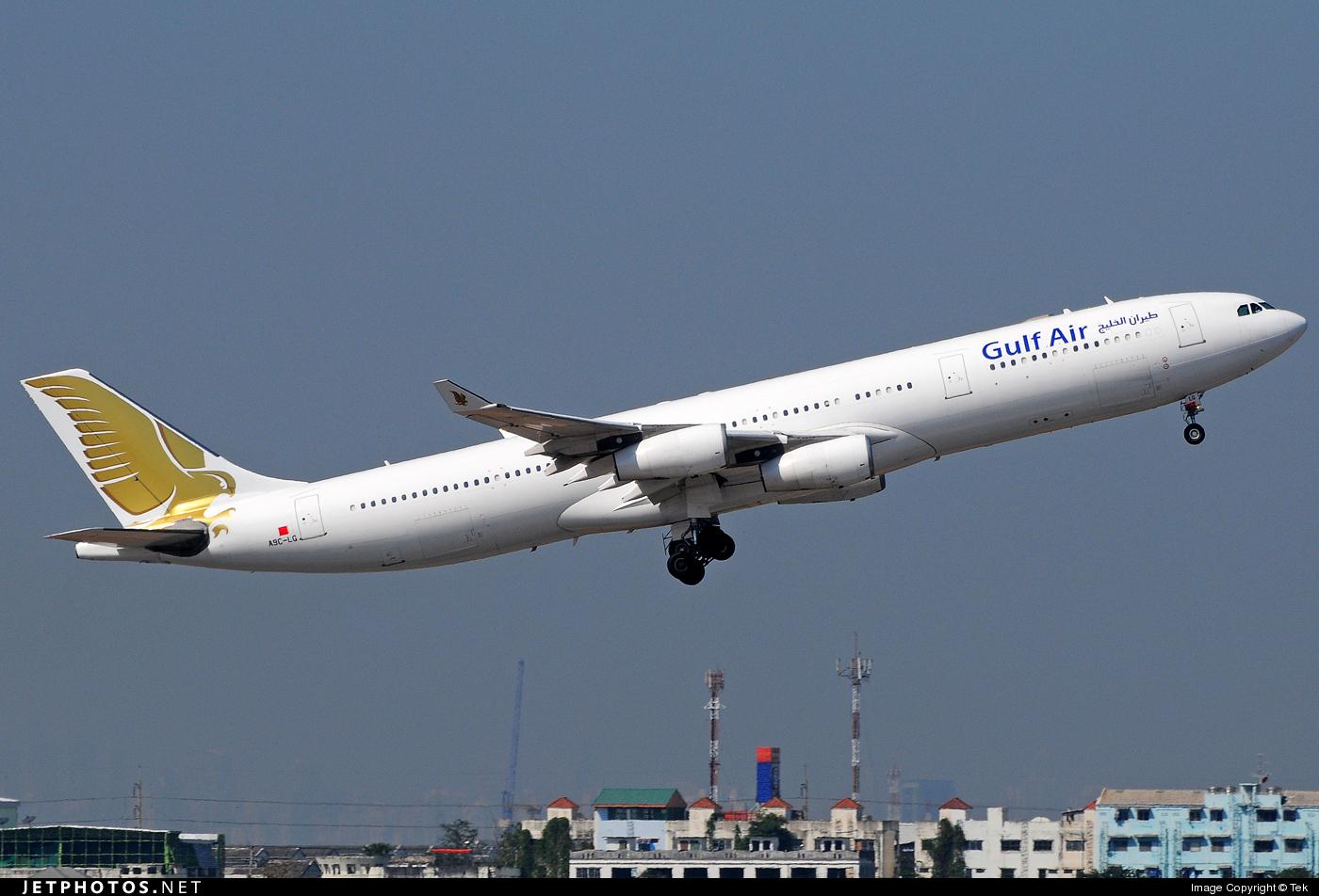 A9C-LG | Airbus A340-313X | Gulf Air | Tek | JetPhotos