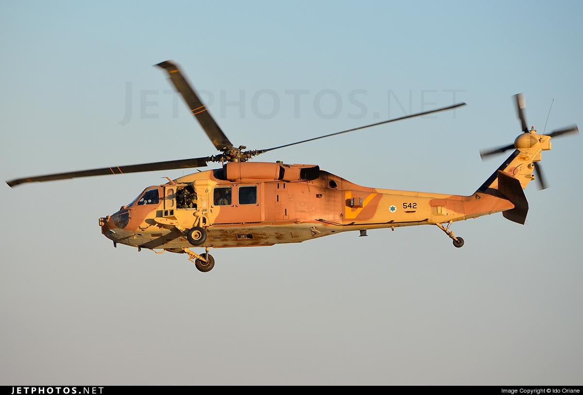 542 - Sikorsky S-70A-55 Yanshuf 3 - Israel - Air Force