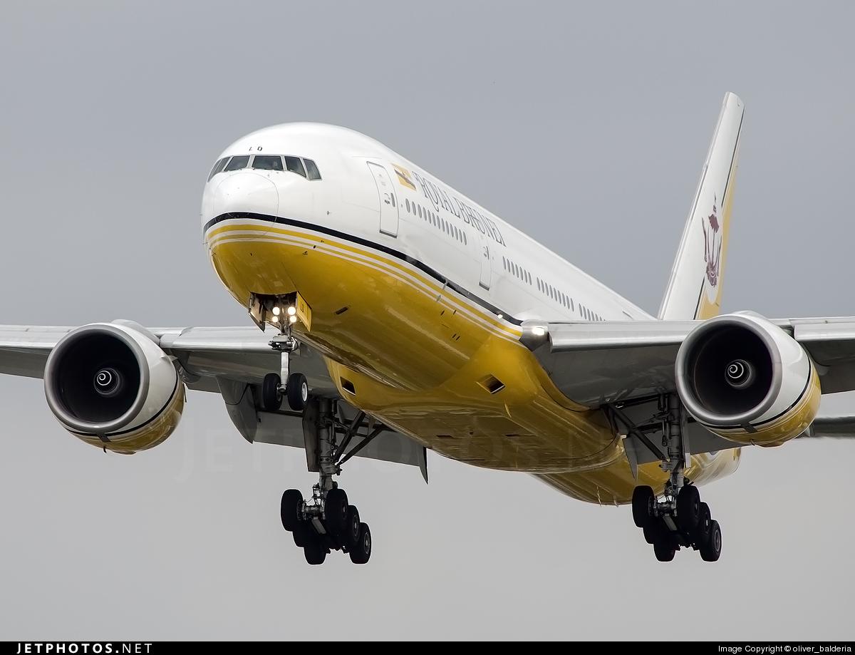 V8-BLD - Boeing 777-212(ER) - Royal Brunei Airlines