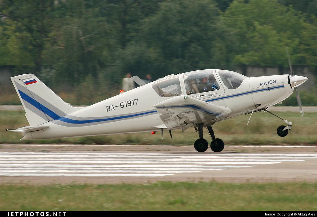RA-61917 - Ilyushin IL-103 - Russia - Gromov Flight Research Institute