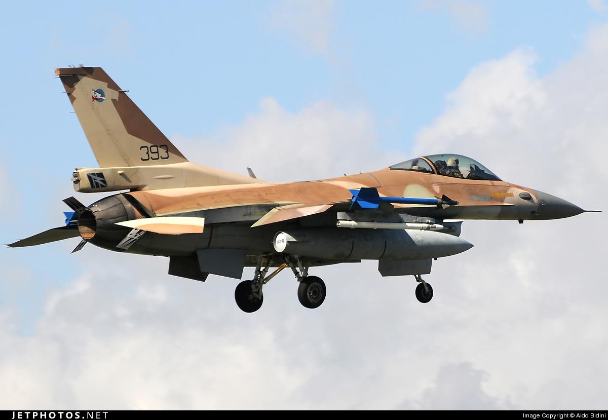 393 - Lockheed Martin F-16C Barak - Israel - Air Force