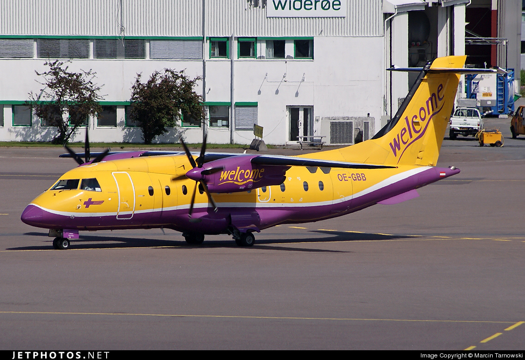 OE-GBB - Dornier Do-328-110 - Welcome Air