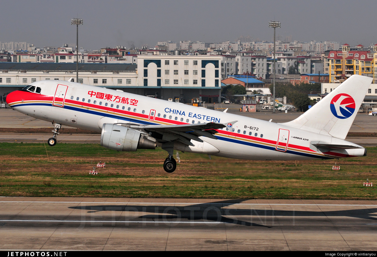 B-6172 - Airbus A319-115 - China Eastern Airlines