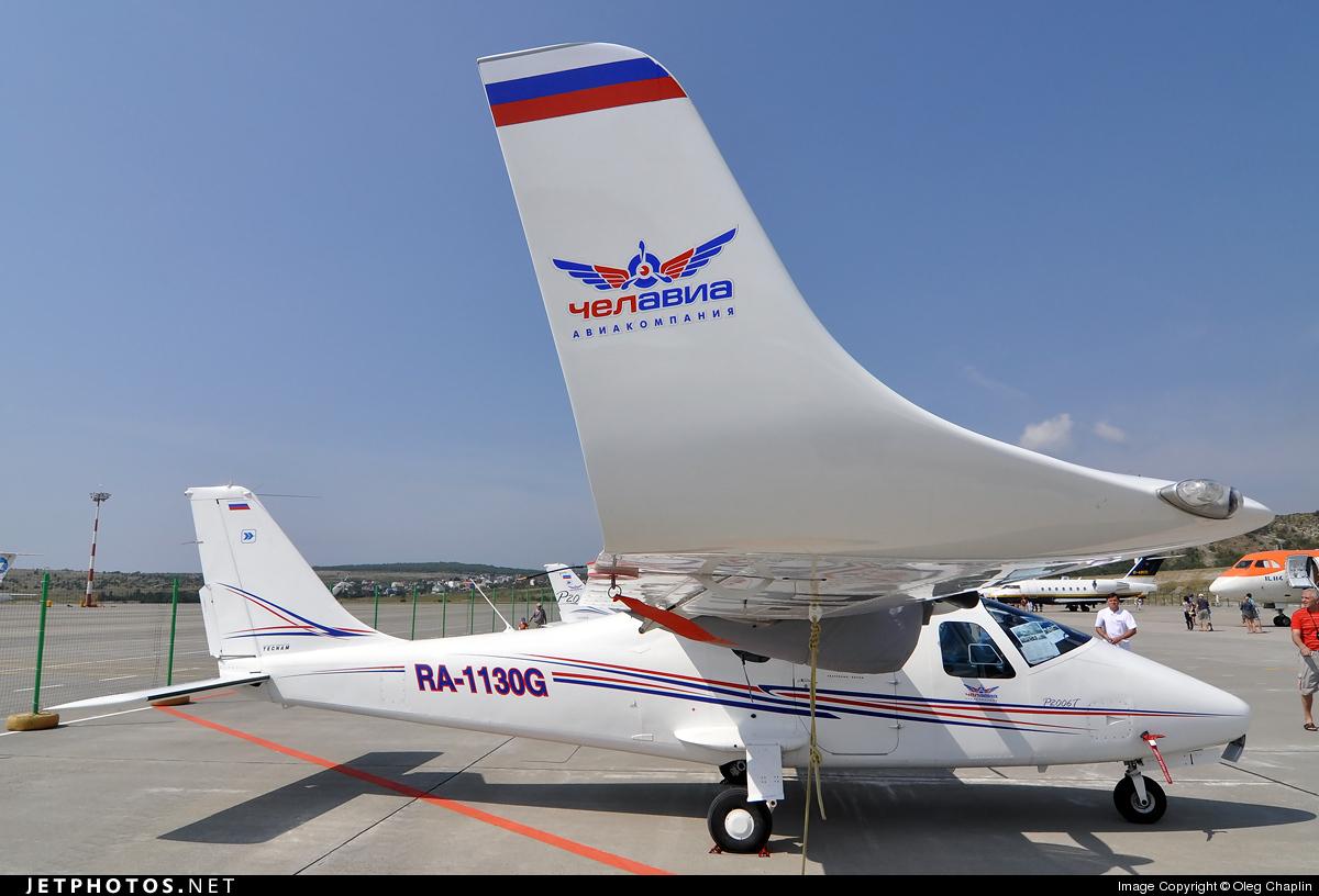 RA-1130G - Tecnam P2006T - Chelavia